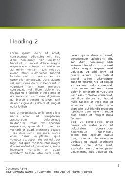 Green Deal Word Template, Second Inner Page, 12546, Nature & Environment — PoweredTemplate.com