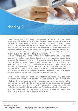 Online Ordering Word Template, Second Inner Page, 12549, Careers/Industry — PoweredTemplate.com