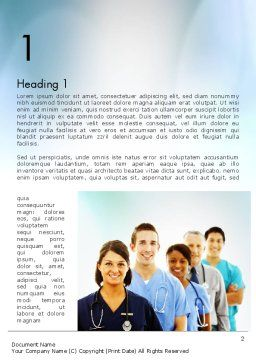 Physicians Word Template First Inner Page