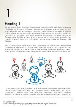 Idea Maker Word Template First Inner Page