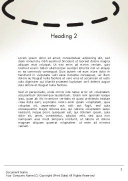 Idea Maker Word Template, Second Inner Page, 12575, Business Concepts — PoweredTemplate.com