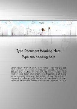 Creating Future Word Template Cover Page