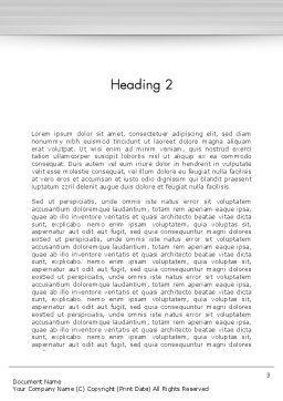 Corporate Board Meeting Word Template, Second Inner Page, 12603, Business — PoweredTemplate.com