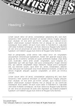 Customer Value Word Template, Second Inner Page, 12674, Consulting — PoweredTemplate.com