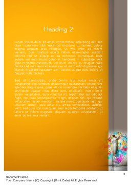 Creative Mind Word Template, Second Inner Page, 12698, Business Concepts — PoweredTemplate.com