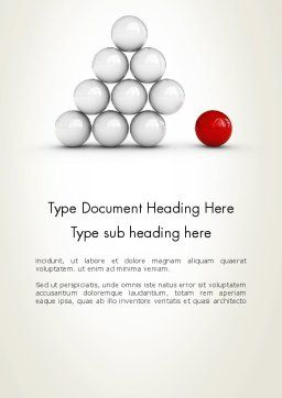 Enhancing Concept Word Template, Cover Page, 12701, Business Concepts — PoweredTemplate.com