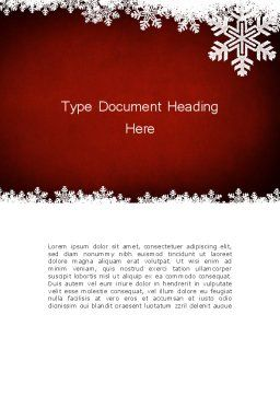 Expressive New Year Theme Word Template, Cover Page, 12710, Holiday/Special Occasion — PoweredTemplate.com