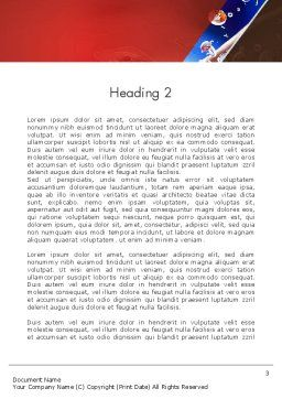 Strict Business Theme Word Template, Second Inner Page, 12736, Business — PoweredTemplate.com