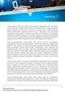 Programming Teaching Word Template, Second Inner Page, 12744, Education & Training — PoweredTemplate.com