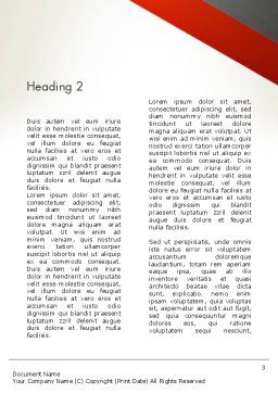 Vision Just Ahead Sign Word Template, Second Inner Page, 12752, Business Concepts — PoweredTemplate.com