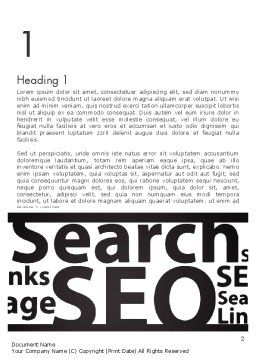 SEO Word Cloud Word Template, First Inner Page, 12802, Careers/Industry — PoweredTemplate.com