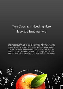 Idea Generation Process Word Template Cover Page