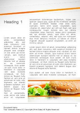 Cheese Burger with Salad Word Template, First Inner Page, 12811, Food & Beverage — PoweredTemplate.com