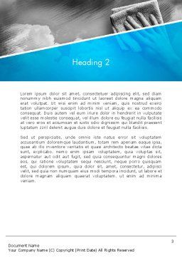 Air Cleaning Concept Word Template, Second Inner Page, 12871, Nature & Environment — PoweredTemplate.com