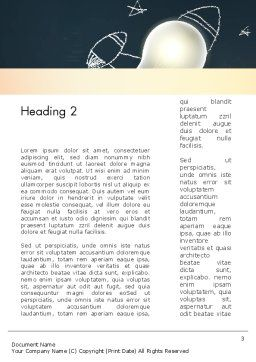 Powerful Idea Word Template Second Inner Page
