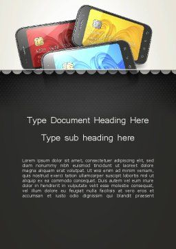 Mobile Phone Payment Word Template, Cover Page, 12940, Financial/Accounting — PoweredTemplate.com