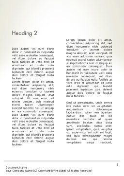 Overcoming Challenges Word Template Second Inner Page