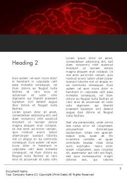 Innovation and Ideation Concept Word Template, Second Inner Page, 12972, Business Concepts — PoweredTemplate.com
