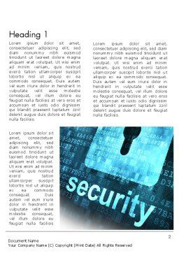 Hardware Security Services Word Template, First Inner Page, 13058, Technology, Science & Computers — PoweredTemplate.com