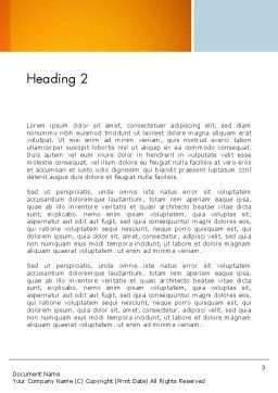 Consultancy Theme Word Template Second Inner Page