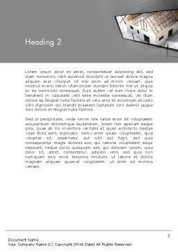Renovation Plan Word Template, Second Inner Page, 13081, Construction — PoweredTemplate.com
