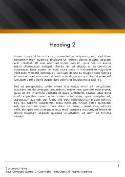 Speaking Trumpet Word Template, Second Inner Page, 13108, Careers/Industry — PoweredTemplate.com