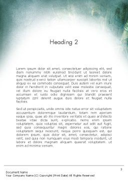 Mystical City Word Template, Second Inner Page, 13131, Construction — PoweredTemplate.com