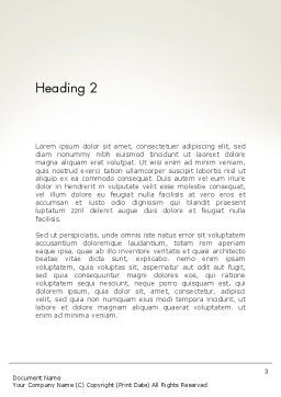 LGBT Word Template, Second Inner Page, 13149, 3D — PoweredTemplate.com