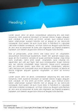 Presenting an Idea Word Template, Second Inner Page, 13165, Business Concepts — PoweredTemplate.com