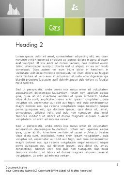 Grid Layout Word Template, Second Inner Page, 13231, Business Concepts — PoweredTemplate.com