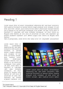 Mobile Web Marketing Word Template, First Inner Page, 13268, Technology, Science & Computers — PoweredTemplate.com
