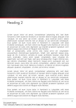 Mobile Web Marketing Word Template, Second Inner Page, 13268, Technology, Science & Computers — PoweredTemplate.com