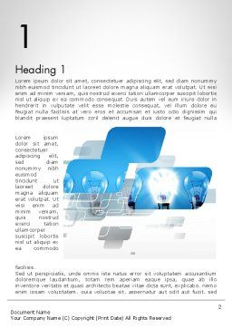 Ideation Concept Word Template First Inner Page