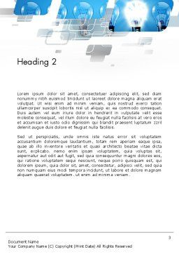 Ideation Concept Word Template Second Inner Page