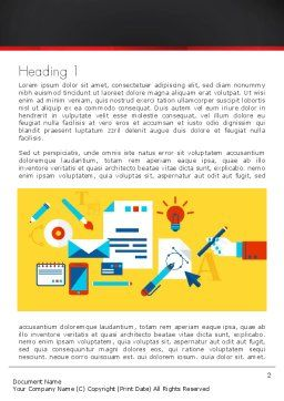 Corporate Design Word Template First Inner Page