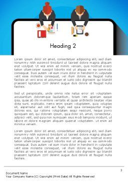 Communication for Successful Project Word Template, Second Inner Page, 13383, Business Concepts — PoweredTemplate.com