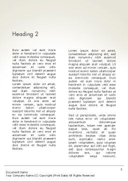 Graduates Wanted Word Template Second Inner Page