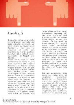 Cropping Hands Word Template, Second Inner Page, 13402, Careers/Industry — PoweredTemplate.com