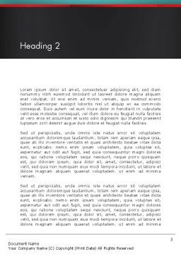 Accounting Software Word Template Second Inner Page