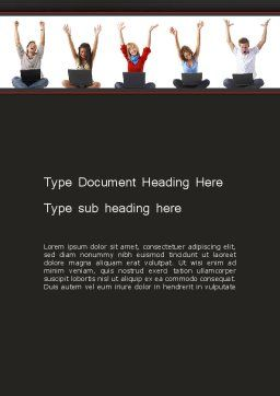 Social Bookmarking Word Template Cover Page