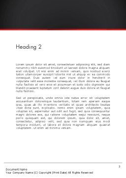 Start Up Concept Word Template, Second Inner Page, 13474, Careers/Industry — PoweredTemplate.com