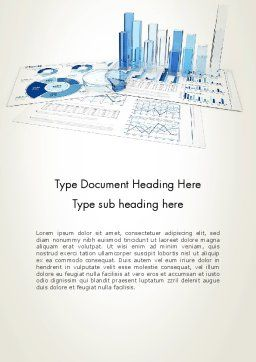 Analyze Market Report Word Template, Cover Page, 13493, Consulting — PoweredTemplate.com