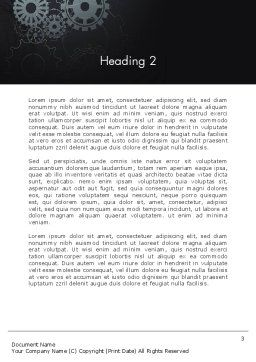 Project Launch Concept Word Template, Second Inner Page, 13504, Business Concepts — PoweredTemplate.com