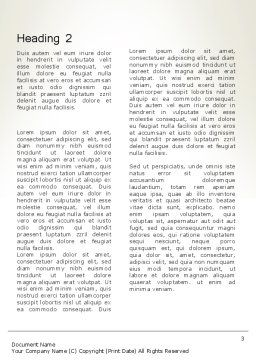 Global Application Network Word Template, Second Inner Page, 13507, Technology, Science & Computers — PoweredTemplate.com