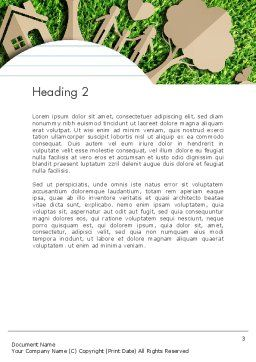 Ecosystem Word Template Second Inner Page