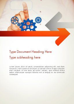 Systems Integration Word Template, Cover Page, 13523, Consulting — PoweredTemplate.com