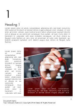 Target Audience Analysis Word Template, First Inner Page, 13528, Business — PoweredTemplate.com