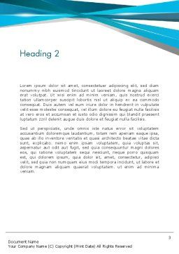 Training Course Sign Word Template Second Inner Page