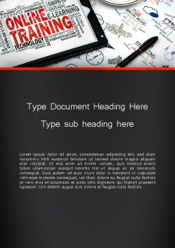 Thinking Big Word Template Cover Page