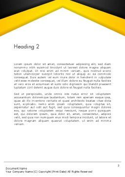 Growing Startup Word Template Second Inner Page